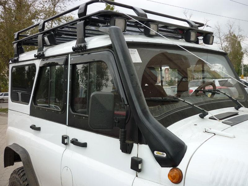 Багажник экспедиционный на уаз хантер своими руками